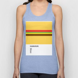 Pantone Food - Hamburger Unisex Tank Top