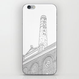 London Truman Chimney - Line Art iPhone Skin
