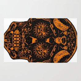 Strongman Sugar Skull, Dia De Los Deadlift Rug