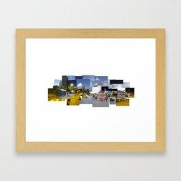 Plaza Venezuela Framed Art Print
