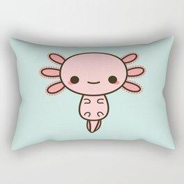 Kawaii axolotl Rectangular Pillow