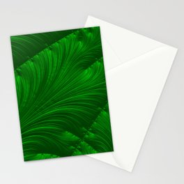 Renaissance Green Stationery Cards