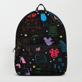Tasting the Magic - Black Backpack
