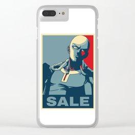 "Saitama ""Sale"" Clear iPhone Case"