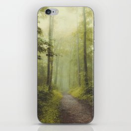 Long Forest Walk iPhone Skin