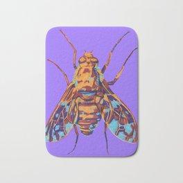 Tiger Bee Fly Bath Mat