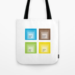 Homage to Beer Ingredients Tote Bag