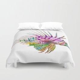 When I Dream of Lionfish Duvet Cover