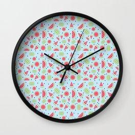 Seedless Watermelon Wall Clock