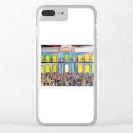 Cabildo abierto Clear iPhone Case