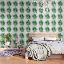 Pot Leaf Space Dust Wallpaper