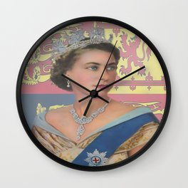 """The  Queen"" Wall Clock"
