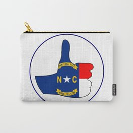 Thumbs Up North Carolina Carry-All Pouch