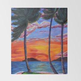 Majestic Maui Moment Throw Blanket