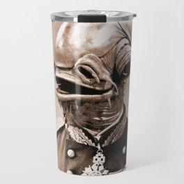 Portrait of Sir Ackbar Travel Mug