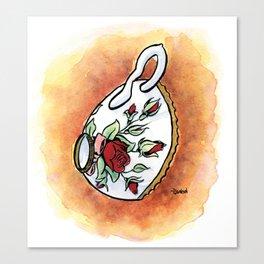 Tittie Tea Cups Canvas Print