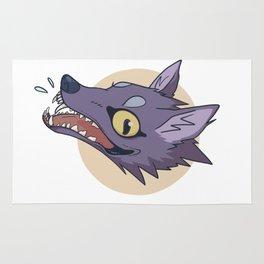 Happy Wolf Rug