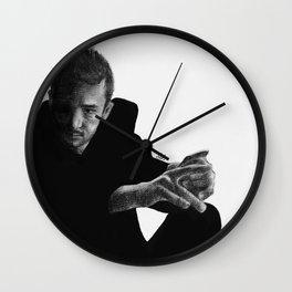 dark side of tyler Wall Clock