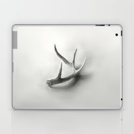 Lost and Found - Deer Antler Pencil Drawing Laptop & iPad Skin