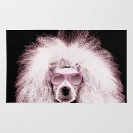 Poodle Dog Digital Art Rug