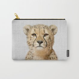 Cheetah - Colorful Carry-All Pouch