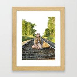 jillian  Framed Art Print