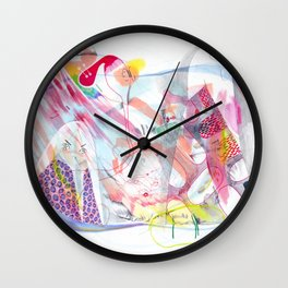 Angry Wall Clock