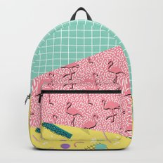 Dreaming 80s #society6 #decor #buyart Backpacks