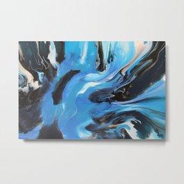 Blue Oasis Metal Print