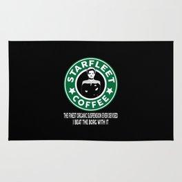 Starfleet Coffee Rug