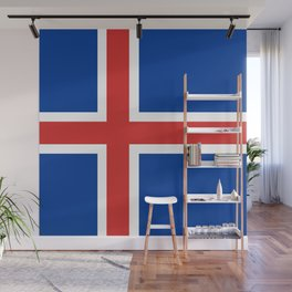 Flag: Iceland Wall Mural