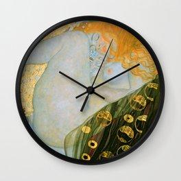 "Gustav Klimt ""Danaë"" Wall Clock"
