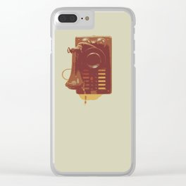 Old phone Clear iPhone Case