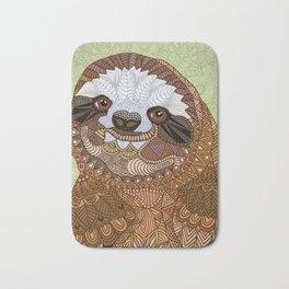 Smiling Sloth Bath Mat