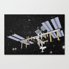 ISS- International Space Station Canvas Print
