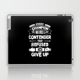 Boxing - Every champion refused - Giveup Laptop & iPad Skin