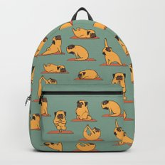 Pug Yoga Backpacks