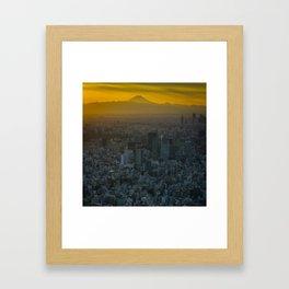 Tokyo Sunset Framed Art Print