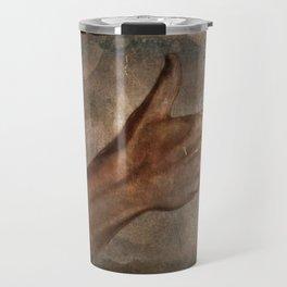 Daguerreotype Thumbs Up Travel Mug