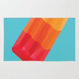Ice Block Polygon Art Rug