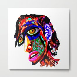 The Knightly Metal Print