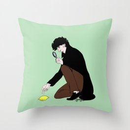 Guess Who Found the Lemon?! Throw Pillow