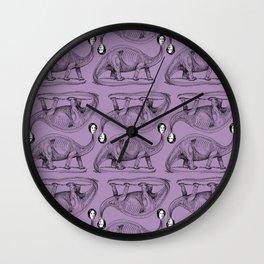 Charlotte Bronte-saurus Wall Clock