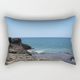 Blue Ocean Rectangular Pillow