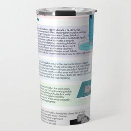 Clipper Blade Maintenance  Travel Mug