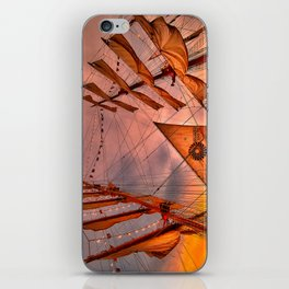 Tall Ship BAE Guayas, Ecuador iPhone Skin