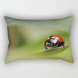 7 Spotted Ladybird Rectangular Pillow