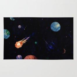 color galaxi Rug