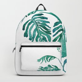 Monstera painting 2017 Backpack