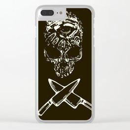 Death Dealer Clear iPhone Case